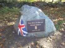 Plaque for British Soldiers